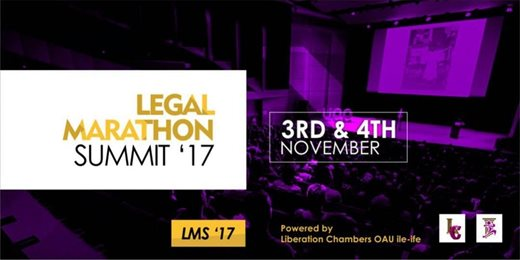 The Legal Marathon Summit (LMS 2017)