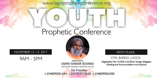Youth Prophetic Conference in Lagos