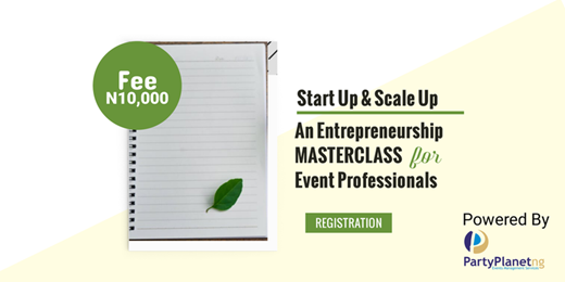 Start Up & Scale Up, Entrepreneurship Masterclass for Event Professionals