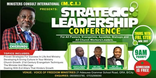 MCI Strategic Leadership Conference