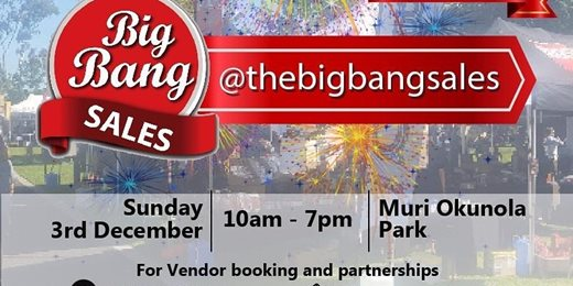 Discount Sales Festival - The Big Bang Sales December Series is back!