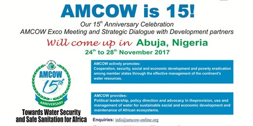 AMCOW @ 15 Anniversary/AMCOW EXCO Meeting & Strategic Dialogue with Development partners