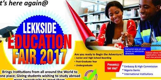 LekkSide Annual Nigeria Student Education Fair
