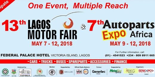 Lagos Motor Fair in Nigeria