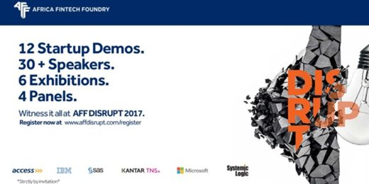 Grow your Business with Technology,The AFF Disrupt 2017'
