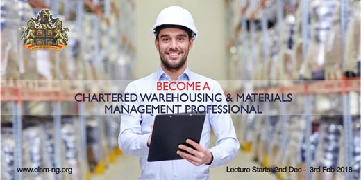 Become a Chartered Warehousing & Materials Manager