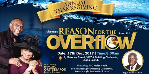 Reason For The Overflow
