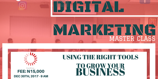 Digital Marketing Master Class Using The Right Tools To Grow Your Business