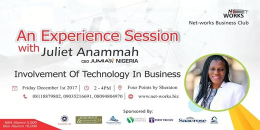 An Experience Session With Juliet Anammah the Ceo Jumia Nigeria