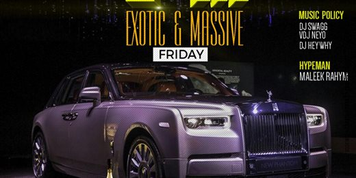 Exotic And Massive Friday At Club Lakers
