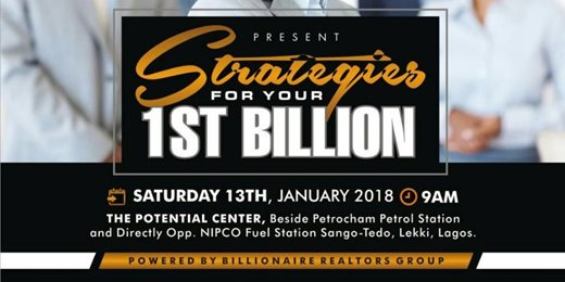 Strategies For Your 1st Billion