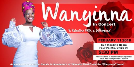 Wanyinna in Concert The Sacrifice of Love
