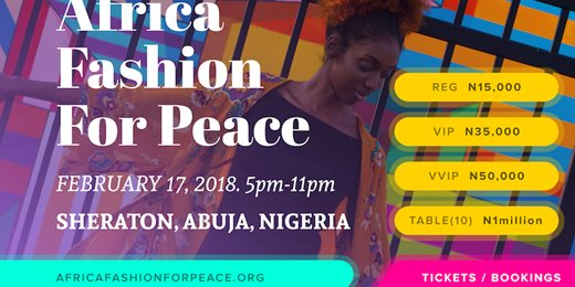 Africa Fashion For Peace