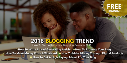 2018 Blogging Trend - How To Start A Successful Blogging Career in 2018