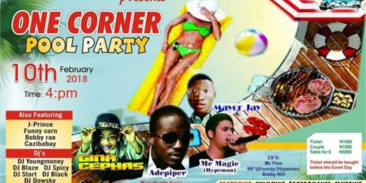 One Corner Pool Party
