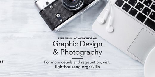 Free Graphic Design & Photography Training Workshop