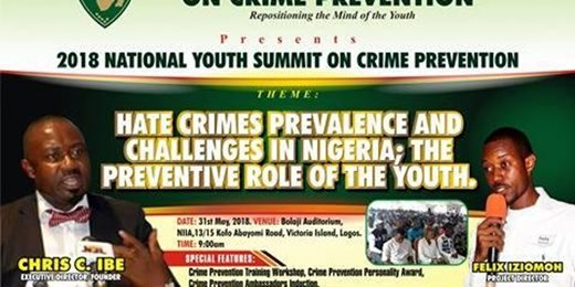 2018 National Youth Summit on Crime Prevention