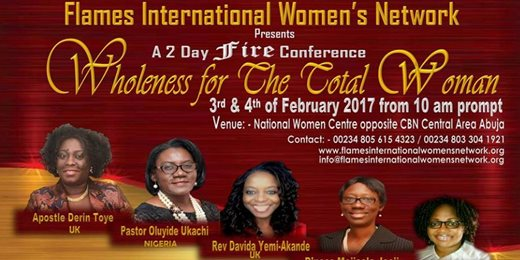 Flames International Women's Network - Wholeness for the Total Woman