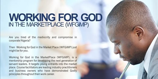 Working For God In The MarketPlace