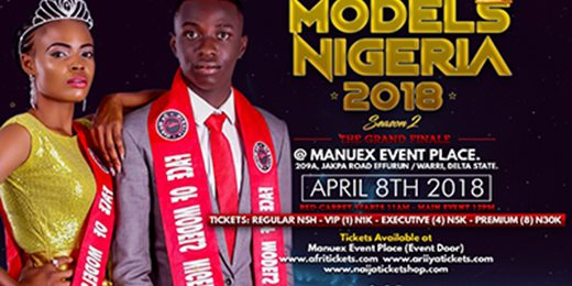 FACE OF MODELS NIGERIA BEAUTY PAGEANT