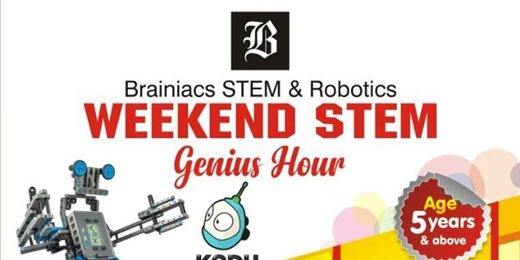 Brainiacs Weekend STEM Genius Hour