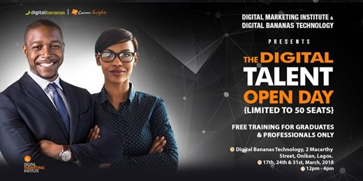 The Digital Talent Open Day