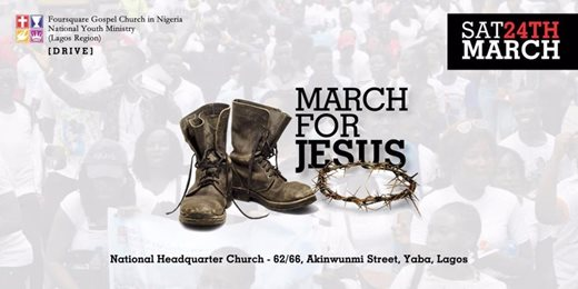March For Jesus 2018