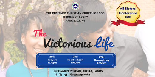 All Sisters Conference: The Victorious Life