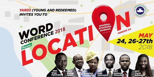 Word Conference 2018- Location