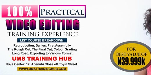 100% Practical Video Editing Training
