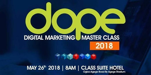 Dope Digital Marketing Master Class 2018