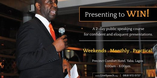 Presentation Skills Training Course in Lagos