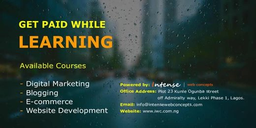 GET PAID WHILE LEARNING