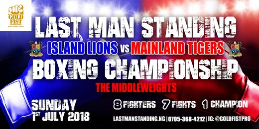 LAST MAN STANDING BOXING CHAMPIONSHIP SERIES