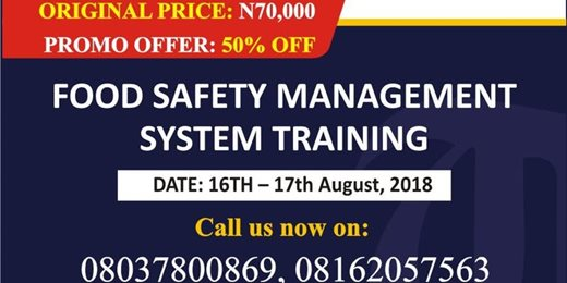 Food Safety Management System Training