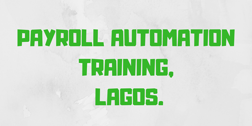 Payroll Automation Training
