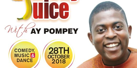 COMEDY JUICE WITH AY POMPEY