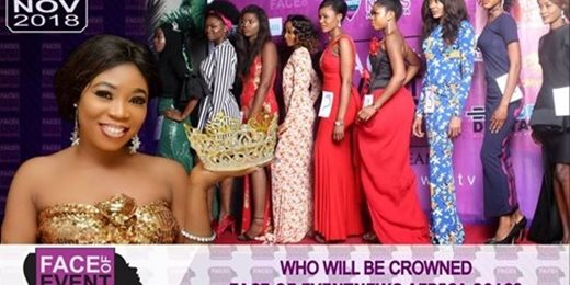 Face of Eventnews Africa Beauty Pageant 2018