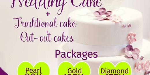 Dolly's Cake&Events Wedding Cakes Promo 2018