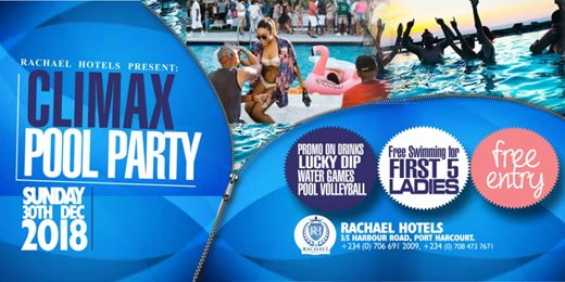 Climax Pool Party
