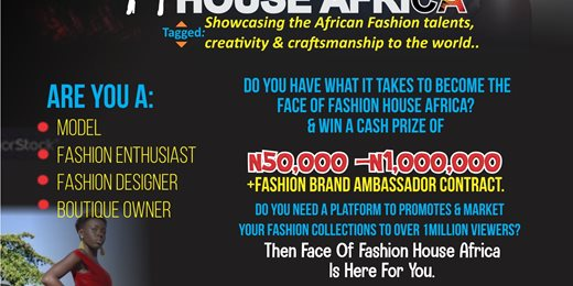 Face of Fashion House Africa