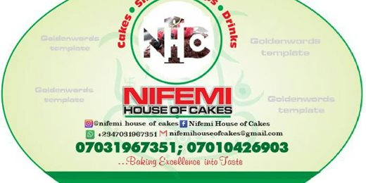 Nifemi House of Cakes