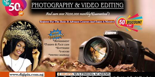 Learn Digital Photography & Video Editing