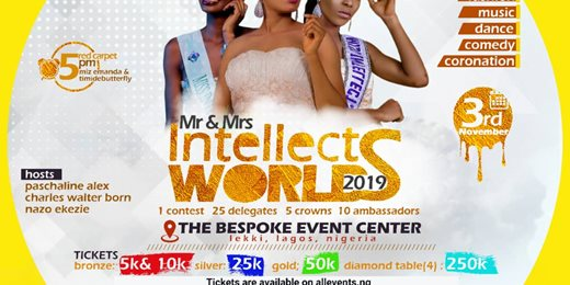 The Intellects Awards & Grand Finale of Mr/Miss Intellects World 2019