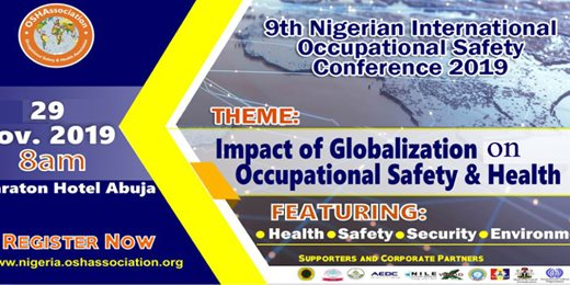 9th OSHAssociation International Safety Conference and Award 2019