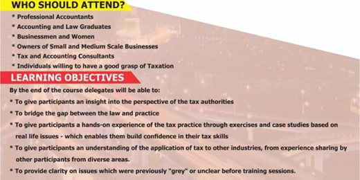 Tax Training for SMEs Owners