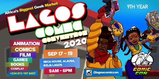 LAGOS COMIC CONVENTION 2020