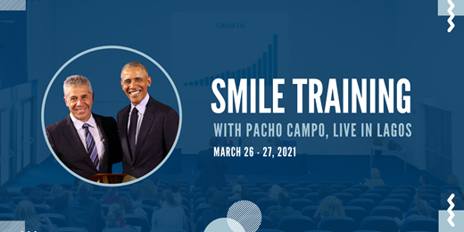 Smile Training with Pacho Campo Live in Lagos