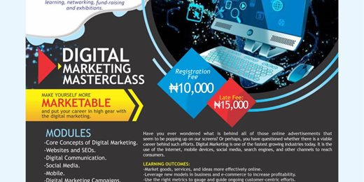 Digital Marketing Masterclass